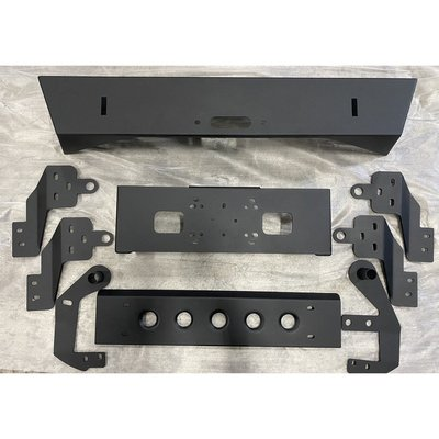 【CARLAND汽车百貨】JIMNY JB74 WMD前絞盤短保桿