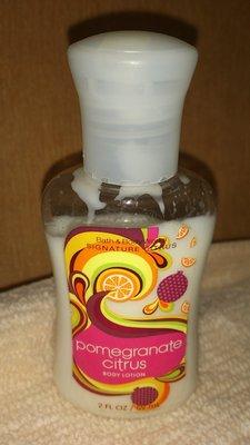 二手Bath & Body Works-香氛身體乳液 Body Lotion石榴柑橘59ml
