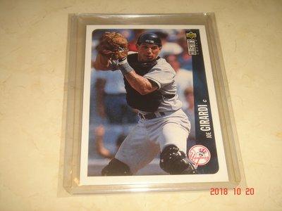 美國職棒 Yankees Manager Joe Girardi  1996 UD  #632 球員卡