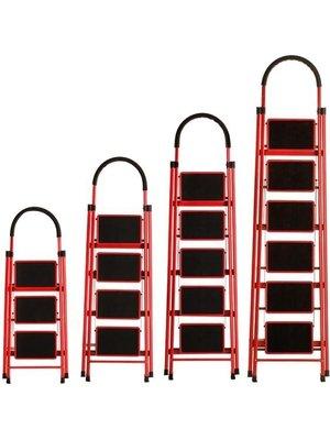 鋁梯 怡奧梯子家用折疊梯加厚室內人字梯移動樓梯伸縮梯步梯多功能扶梯