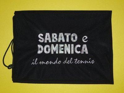 SdV011 全港獨家 SABATO網球拍絨布袋 保護球拍減少磨擦或損壞  特價$40