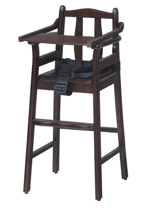 【南洋風休閒傢俱】餐廳家具系列- 胡桃寶寶椅 折合椅 (金624-8)