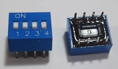 4P DIP SW 藍色指撥開關~~1拍10個50元~~