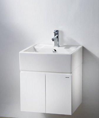 【阿貴不貴屋】 凱撒衛浴 LF5236A 面盆 浴櫃組 懸掛式浴櫃 含龍頭