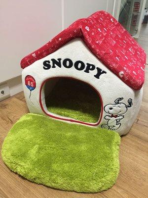 日本pet paradise帶回snoopy pet house寵物床窩屋