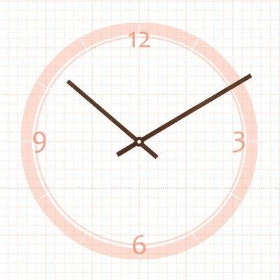 【鐘點站】J140108胡桃木指針 / 適用SKP壓針機芯 / 分針14公分 時針10.8公分 ├原木木皮鐘針/木頭指針