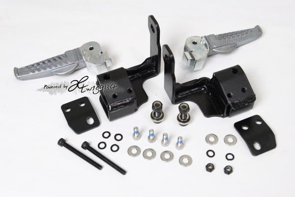 [極致工坊] BWS 大B 完美 直上 原廠 飛炫 飛旋踏板 套件 免鑽孔破壞車台 免焊接