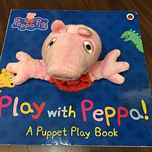 Play With Peppa! A Puppet Play Book 粉紅豬小妹 大型手偶書