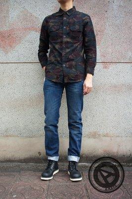 【A-KAY0】LEVIS LVC 50155-0030 石洗刷紋 赤耳布邊牛仔布 合身窄版 深藍