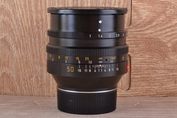 【品光攝影】萊卡 徠卡 Leica Noctilux 50mm F1.0 E60 II 二代 加拿大製 #40788K