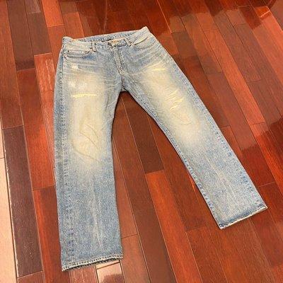 [RiggaLAB] INTERBREED 05 CLASSIC STANDARD FIT 日本岡山製 / 水洗牛仔褲 / 破壞