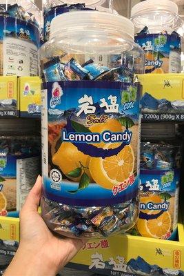 Costco好市多 BIGFOOT🍋薄荷岩鹽檸檬糖 900g  lemon candy 岩塩