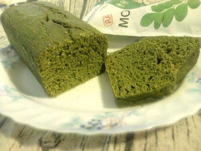 無糖/低醣/低碳/無麵粉/生酮 椰絲辣木葉蛋糕