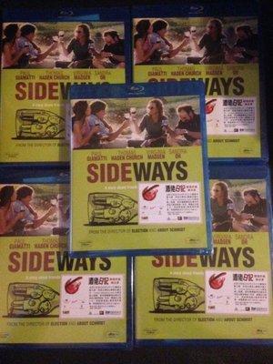 (全新未拆封)尋找新方向 Sideways 藍光BD(得利公司貨)限量特價