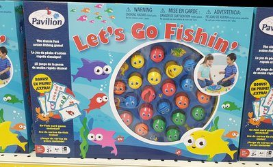 Let's go fishing 釣魚遊戲t