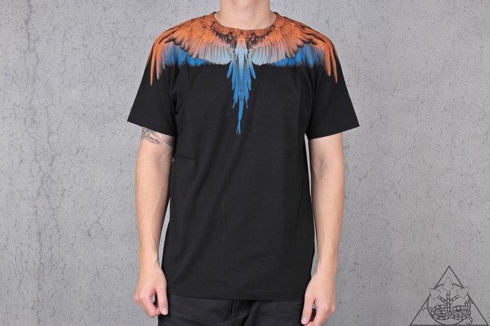 【HYDRA】Marcelo Burlon Orange Wings T-shirt 翅膀 羽毛 短T【MB19】