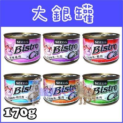 *貓狗大王*『Seeds惜時』特級銀貓健康大罐-鮮嫩雞肉-170G共6種口味