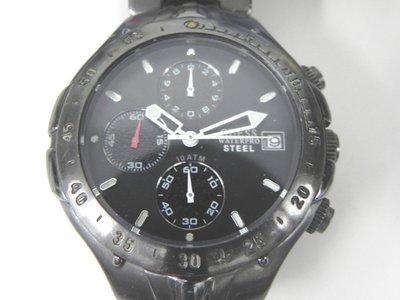 三眼錶 [GUESS-I11006G1] GUESS 三眼時尚錶  軍錶