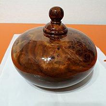 【九龍藝品】肖楠釘子瘤聚寶盆 ~ 寬約14.3cm/閃花.重油.鋼琴烤漆(15)