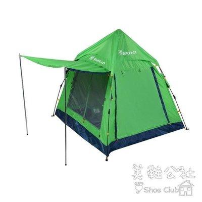 『格倫雅品』戶外-人單層沙灘免搭自動速開露營帳篷