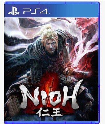 ps4遊戲PS4正版游戲 二手    仁王 中文   Nioh  中文 現貨即發
