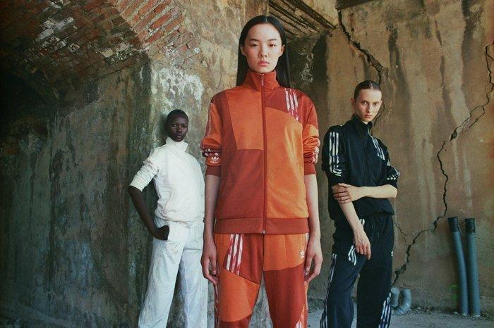 [第二彈聯名] adidas Originals X Danielle Cathari 秒殺聯名 黑色系 運動套裝