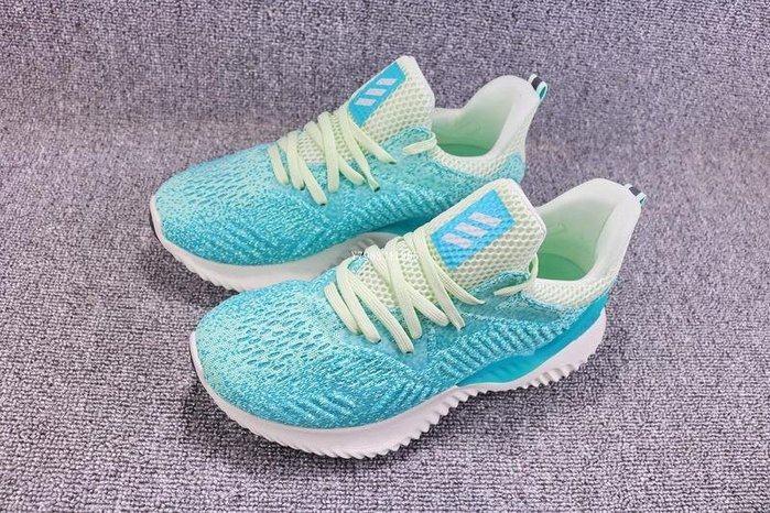 Adidas Alpha Bounce EM W 淺綠 經典 休閒運動慢跑鞋 男女鞋 CG5578