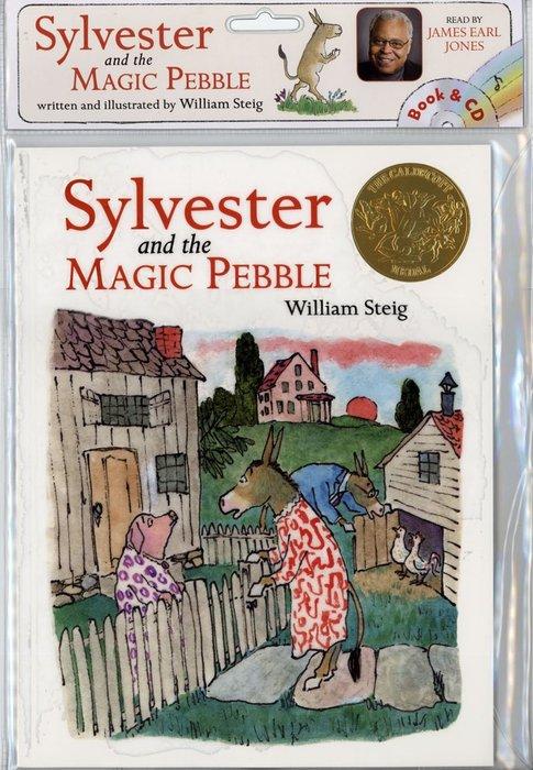 *小貝比的家*SYLVESTER AND THE MAGIC PEBBLE/平裝書+CD/7~12歲/童話故事