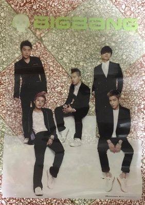 《絕版全新》BIGBANG Special Edition Album 特殊材質海報