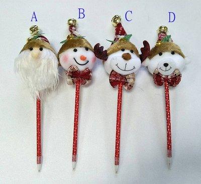 【洋洋小品聖誕造型原子筆聖誕老公公雪人麋鹿熊熊】桃園中壢平鎮聖誕服 聖誕節服裝 聖誕婆婆服 服裝女孩聖誕裙聖誕帽聖披肩裝
