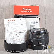 【品光數位】Canon EF 35mm F2 公司貨 #103529