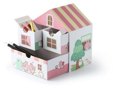 卡娜赫拉的小動物 甜蜜小屋收納盒 純手工 台灣製