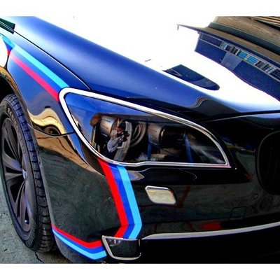 【JR佳睿精品】08-14 BMW 730 735 740 745 750 F01 F02 改裝 鍍鉻大燈框 前燈飾條