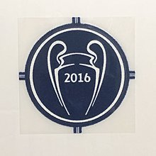 歐聯 Uefa 2016 Champions League Champion patch for 皇家馬德里 Real Madrid