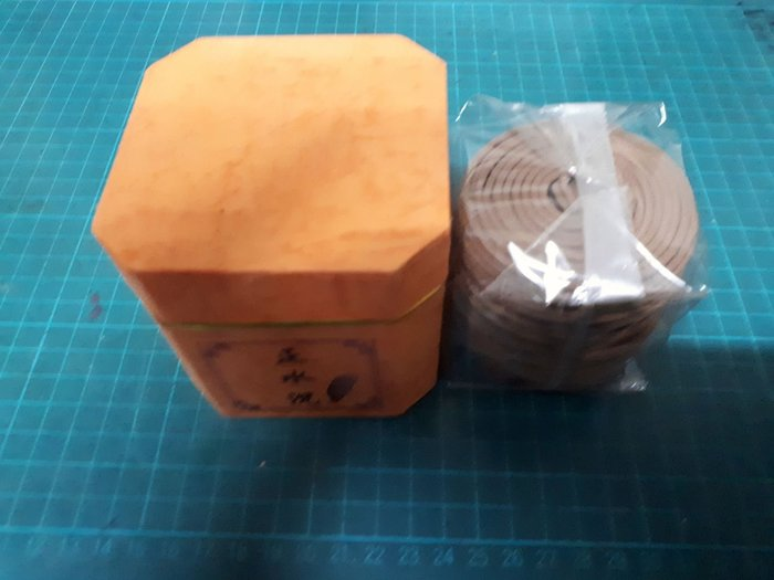 正水沉4小時48片盤香+贈送銅香插