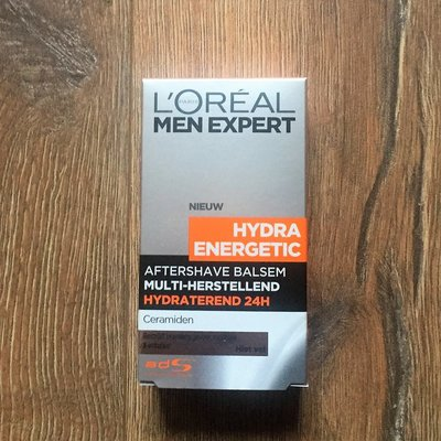 法國製 Loreal Hydra Energetic After Shave Balsem 清爽穩定 鬚後乳 新品