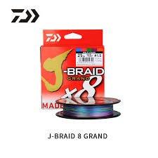 《屏東海豐》~新包裝~日本製 DAIWA J BRAID GRAND X8 8股 五色 500M PE線 2.5~6號