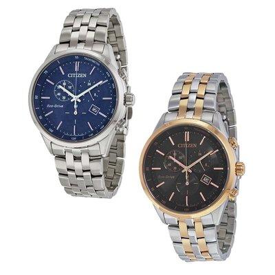 【換日線】男錶 Citizen Sapphire Collection Eco-drivel Men's Watch - Choose color