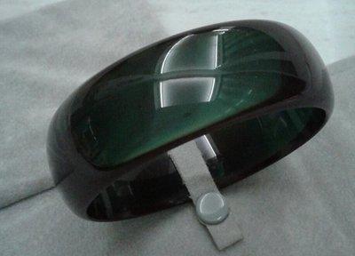三十年珍藏T491#琥珀寬版手鐲18.5圍2000(優化處理)出清
