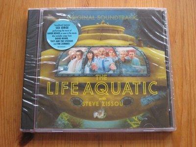 正版CD電影原聲帶《海海人生》 /Life Aquatic with Steve Zissou 全新未拆