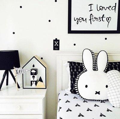Miffy 米菲兔 miffy 米飛兔 抱枕 拍照造型玩偶 超萌兔子午安抱枕《啊噗啾abu chu》