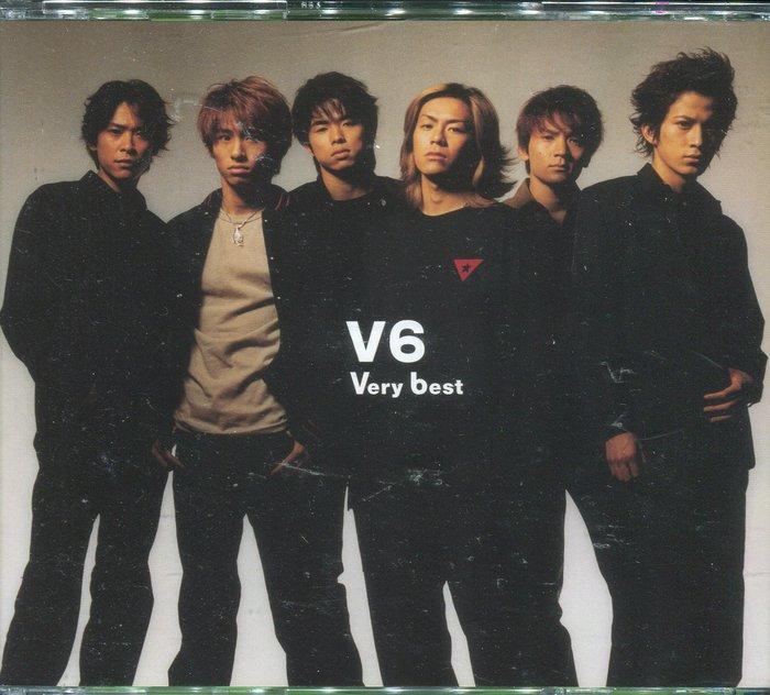 【塵封音樂盒】V6 - VERY BEST 非常精選 2CD