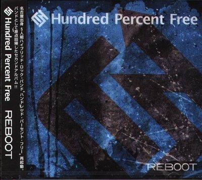 K - Hundred Percent Free - REBOOT - 日版 - NEW