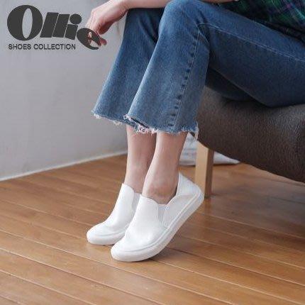 『※妳好,可愛※』韓國童鞋 韓國女鞋 韓國Ollie  經典簡約休閒鞋  後踩休閒鞋 懶人鞋 樂福鞋 平底鞋