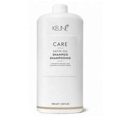 KEUNE C4緞油洗髮精+壓頭 1000ml 乾躁 嚴重受損髮用 公司貨【小7美妝】