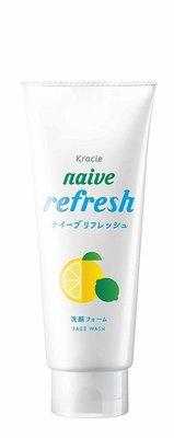 日本 Kracie naive 植物性洗面乳130g ( 柚子香 )
