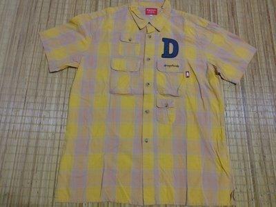 (抓抓二手服飾)  drug  stores  短袖襯衫   SIZE:4      B76
