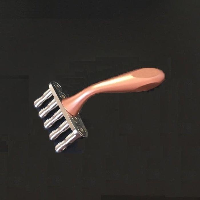 【優惠1299元】弧形曲線奶嘴五叉排酸棒 / 磁性美容棒 磁穴經絡按摩棒 排酸棒 (贈送穴位圖和收纳袋)