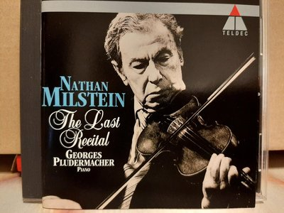 Nathaniel Milstein-The Last Recital,密爾斯坦-最後的演奏會,演繹巴哈,貝多芬,韓德爾,李斯特,沙拉沙提等作曲家作品,如新。