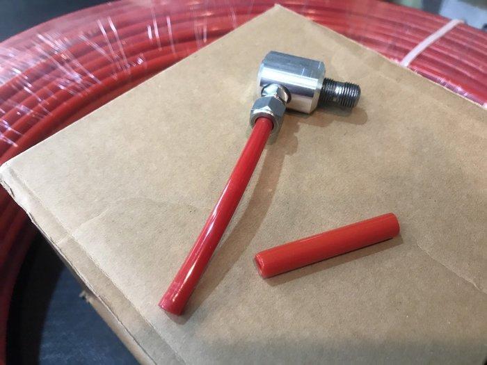 ☆光速改裝精品☆硬殼尼龍管 8*5mm 耐酸鹼 耐壓 耐磨 防腐蝕 耐高溫
